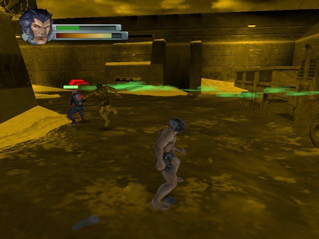 "X2: Wolverine's Revenge Windows ""Senses"" mode also lets Wolverine see opportunities for ""stealth strikes""."