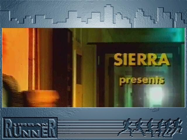 Urban Runner Windows 3.x Intro-SIERRA presents... (that is Max when running)