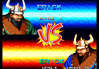 World Heroes 2 Arcade Next Fight.