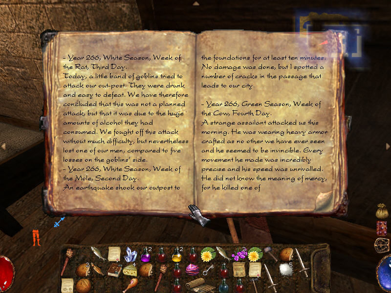 Arx Fatalis Windows There are quite a few books in the game, with important historical background and all