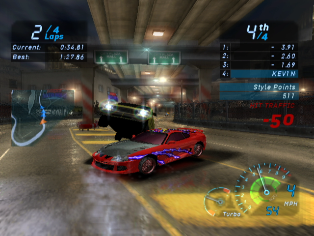 Need For Speed Underground Cheats For Gamecube