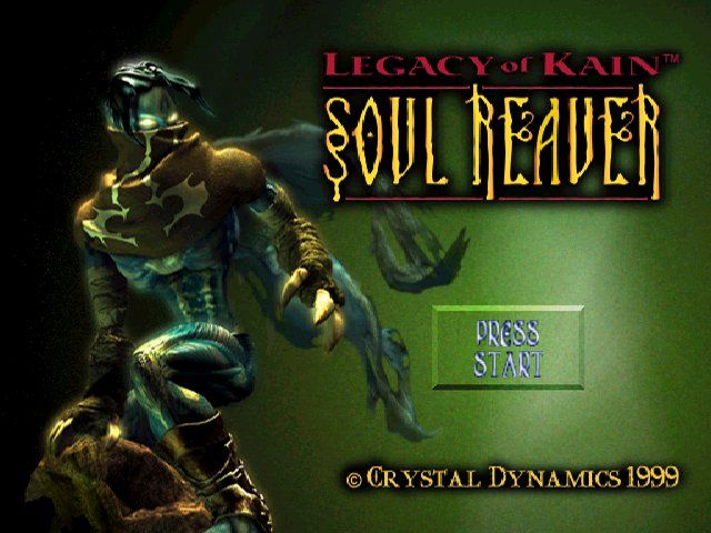Legacy of Kain: Soul Reaver Windows title screen