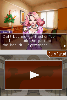 Phoenix Wright: Ace Attorney Nintendo DS All beauty and no brains, apparently.