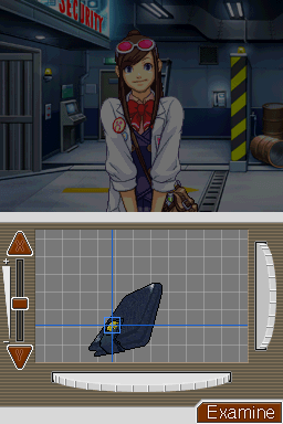 Phoenix Wright: Ace Attorney Nintendo DS Case 5 allows you to examine evidence in 3D to see the details.