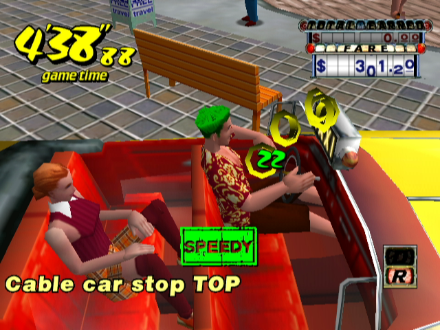 Crazy Taxi Screenshots for GameCube - MobyGames
