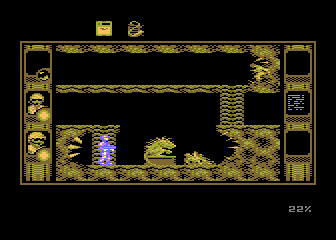 SOS Saturn Atari 8-bit To gain the guts you need to kill this innocent creature