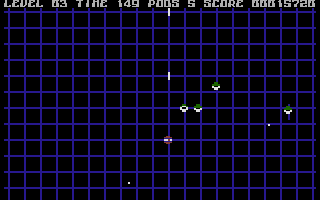 P.O.D.: Proof of Destruction Commodore 16, Plus/4 New type of aliens to blast.