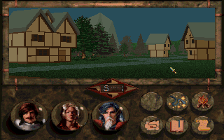 Betrayal at Krondor DOS Smaller towns can be explored physically and have separate 3D buildings. Inside the buildings there are only still shots, however