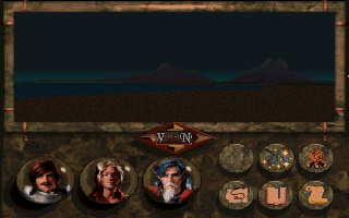 Betrayal at Krondor DOS Night descended upon Midkemia... we strolled on the beach, gazing upon the faraway mountains, engrossed in our thoughts...