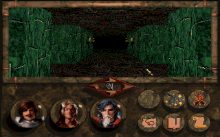 Betrayal at Krondor DOS This is a 3D dungeon - the sewers of Krondor