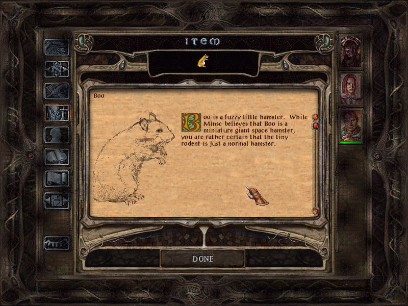 Baldur's Gate II: Shadows of Amn Windows No Baldur's Gate screenshot collection is complete without this extraordinary creature!