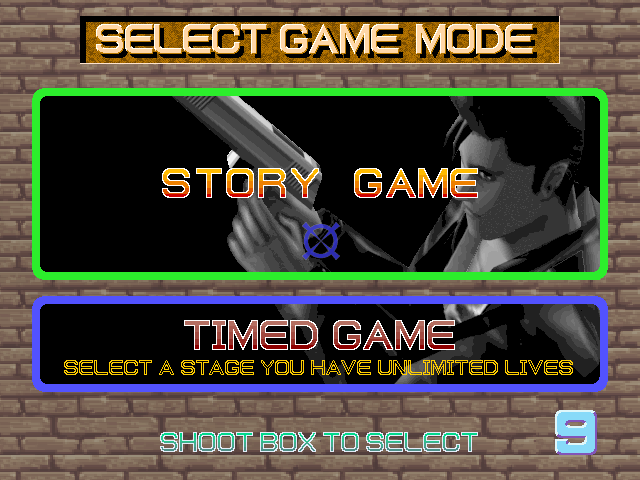 Time Crisis Arcade Game Mode.
