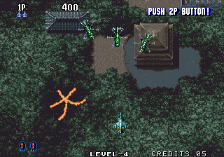 Aero Fighters 2 Arcade First wave.