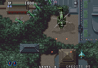 Aero Fighters 2 Arcade Bigger helicopter.