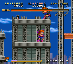Avenging Spirit Arcade Enemy above you.