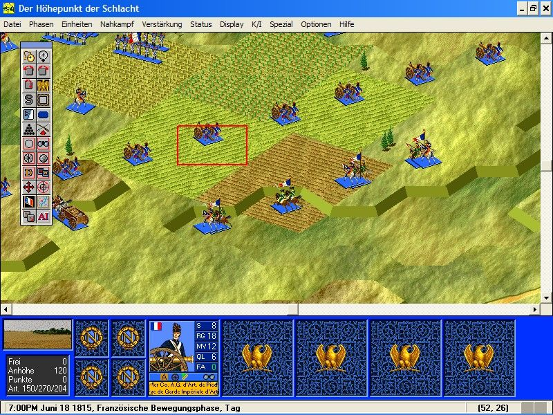Battleground 3: Waterloo  Windows 3D view