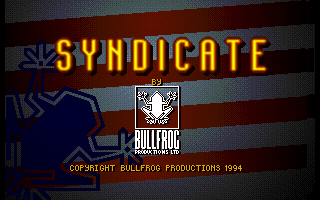 Syndicate: American Revolt Amiga Title screen