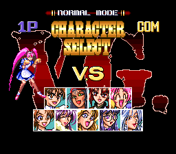 Advanced V.G. SNES Character select
