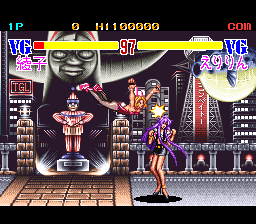 Advanced V.G. SNES Breast attack!