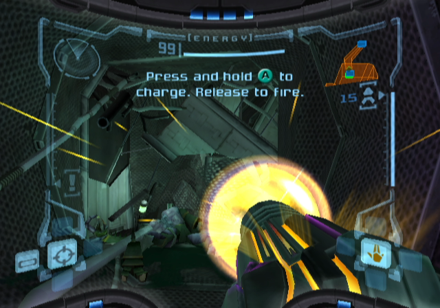 Metroid Prime GameCube Charge Beam
