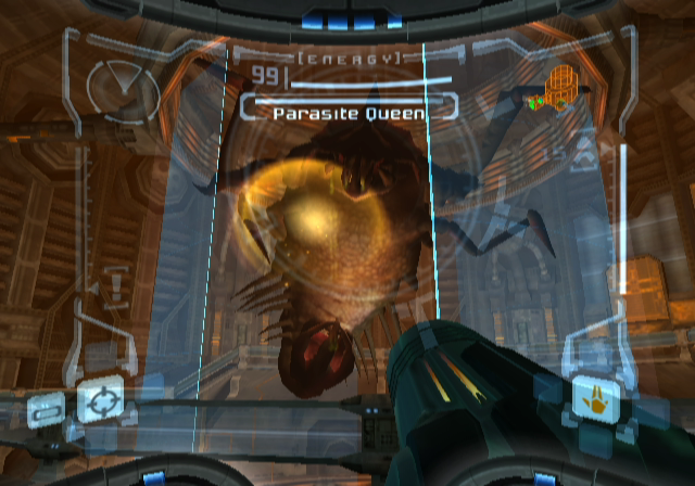 Metroid Prime GameCube Parasite Queen