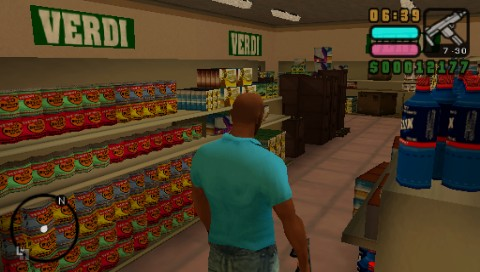 Grand Theft Auto: Vice City Stories PSP You can enter many stores in Vice City