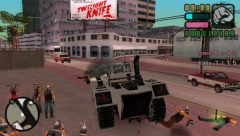 Grand Theft Auto: Vice City Stories PSP Construction site rampage