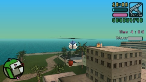 Grand Theft Auto: Vice City Stories PSP Fire Copter side mission