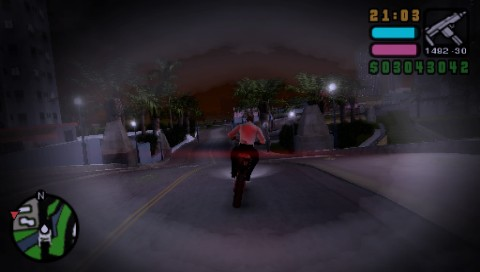 Grand Theft Auto: Vice City Stories PSP Vic is drugged
