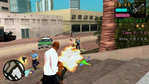 Grand Theft Auto: Vice City Stories PSP I've got a big gun and there's nothing you can do about it