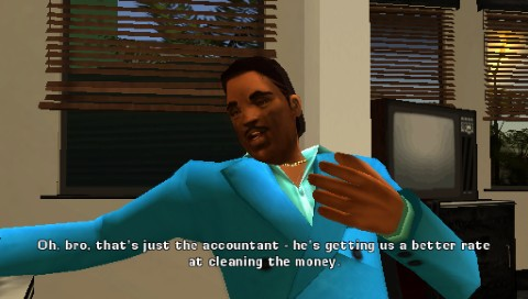 "Grand Theft Auto: Vice City Stories PSP Vic's brother Lance. Maybe you remember him from <moby game=""Grand Theft Auto: Vice City"">GTA: Vice City</moby>"