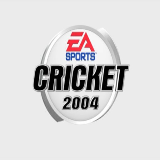 Cricket 2004 PlayStation 2 The game's splash screen. This is seen a lot but the background is not always white.