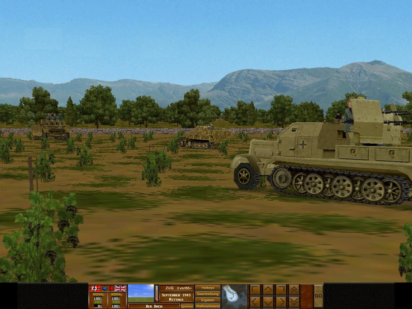 Combat Mission 3: Afrika Korps Windows German Units