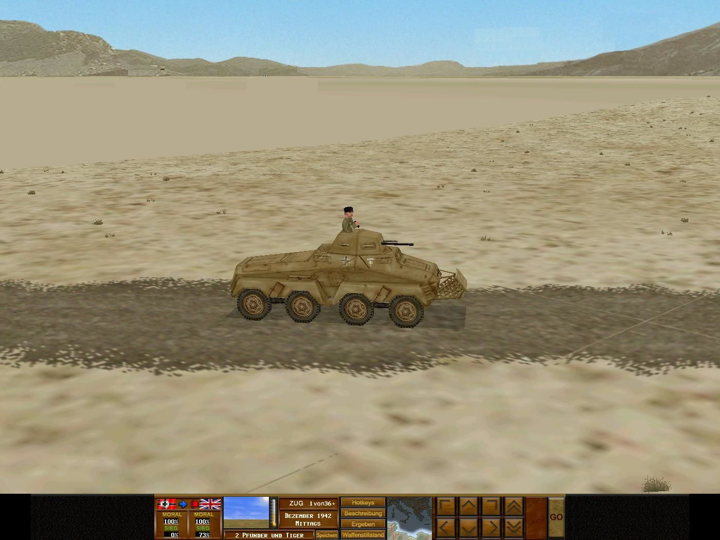 Combat Mission 3: Afrika Korps Windows Is this Rommel?