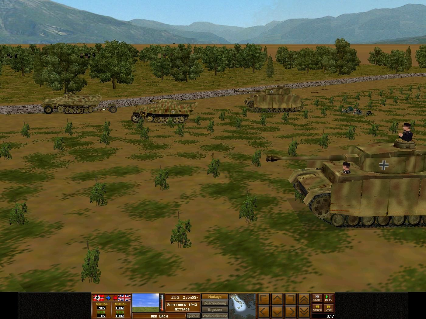 Combat Mission 3: Afrika Korps Windows Panzer IV