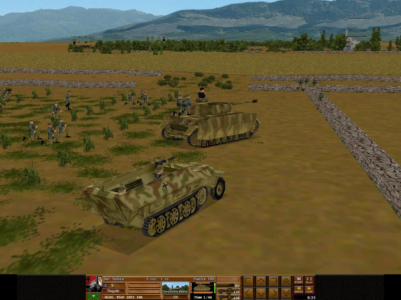 Combat Mission 3: Afrika Korps Windows Waiting for orders