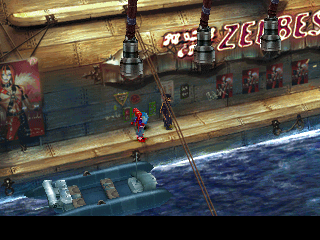 Chrono Cross PlayStation Boarding a cruise ship with plenty of places to visit. Looks like entertainment has taken a certain... angle here