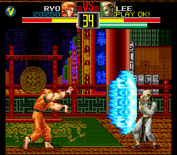 Art of Fighting SNES Bah, here, a Haohshokoken for you!