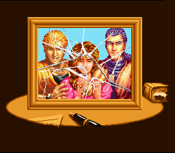 Art of Fighting SNES All is not well in the Sakazaki household...