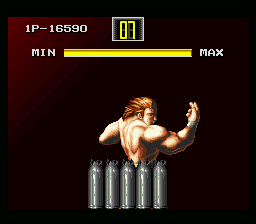 Art of Fighting SNES In the first, you can raise your Spirit bar so you can perform more special moves.