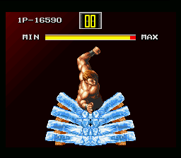 Art of Fighting SNES In the second, you can earn more energy.