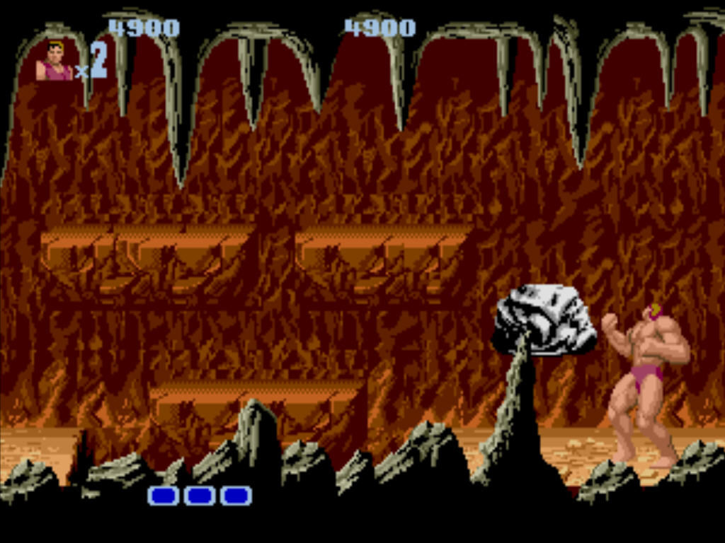 Altered Beast Windows Living rock