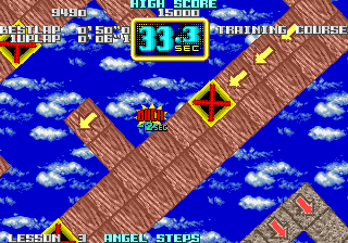 On the Ball Arcade Ouch! Lost 2 seconds.