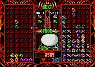 Puyo Puyo 2 Genesis In Game