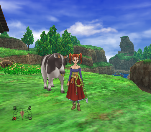 Dragon Quest Viii Journey Of The Cursed King Screenshots For