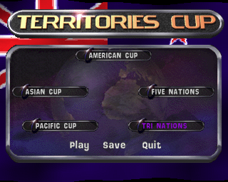 Jonah Lomu Rugby PlayStation The Territories Cup is actually a group showing five different tournaments