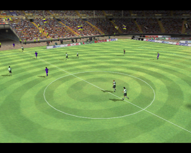 FIFA 2001 PlayStation 2 The players leave the field at half time. In the demo version that is all the play that is allowed