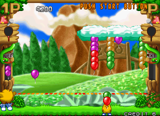 Pop'n Pop Arcade Burst the balloons.