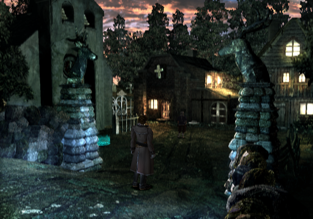 Shadow Hearts PlayStation 2 Quiet village in Eastern Europe