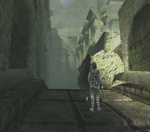Shadow of the Colossus PlayStation 2 You've discovered an entire abandoned city!